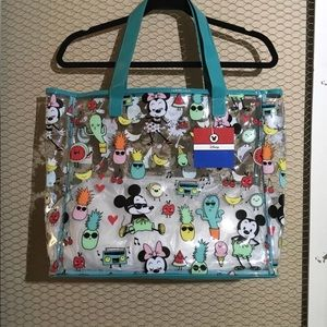 Mickey and Friends Clear Beach Tote